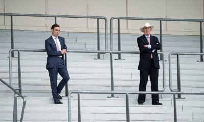 John and Thady Gosden at Royal Ascot