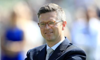 Roger Varian looks on at Chester Racecourse