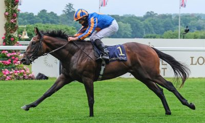 Battleground ridden by Ryan Moore wins the Chesham Stakes during day three of Royal Ascot at Ascot Racecourse.