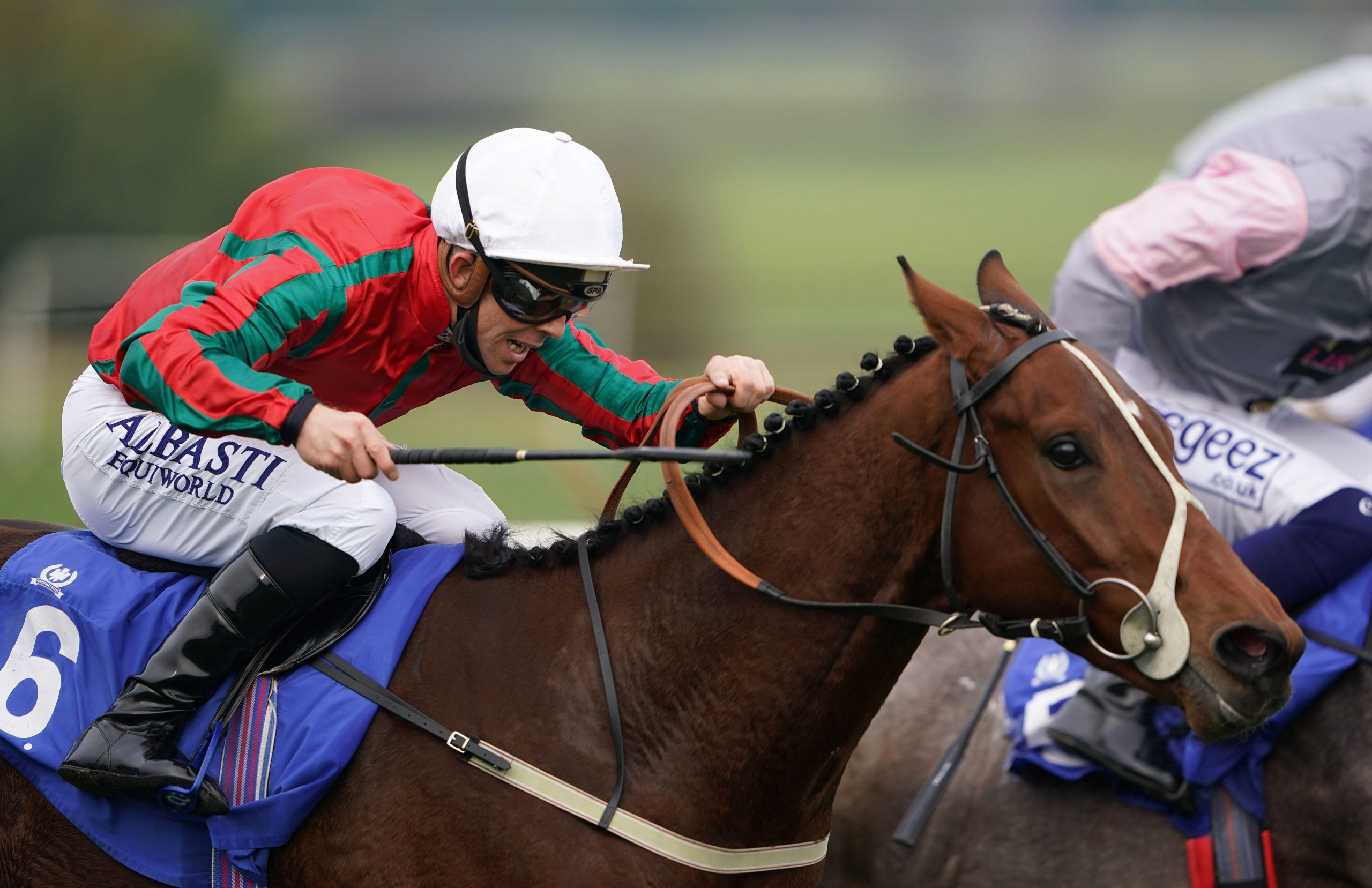 Coul Kat ridden by wins Ben Curtis the Join Racing TV Now Nursery at Pontefract Racecourse.