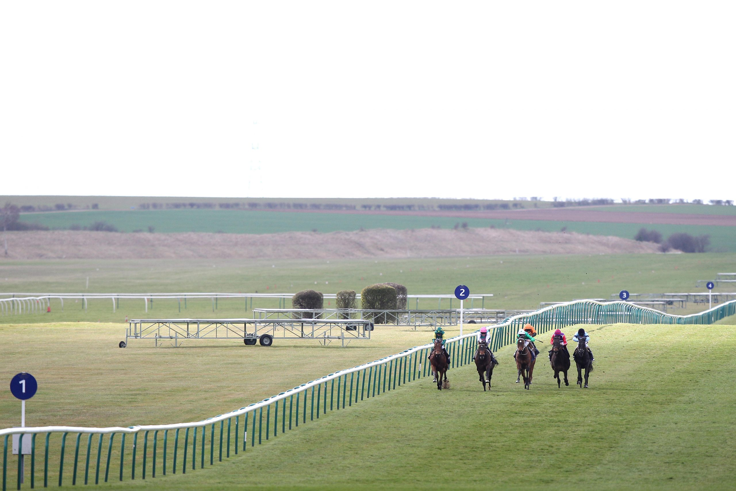 Horse Racing - 2013 Craven Meeting - Day Two - Newmarket Racecourse ITV